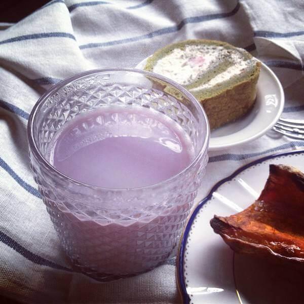 紫薯核桃豆浆