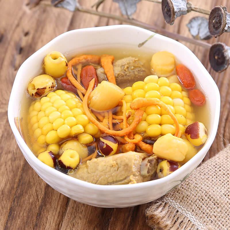 美味五指毛桃玉米炖鸭汤
