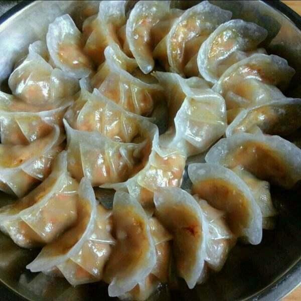 马蹄玉米饺