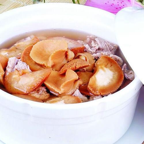 砂锅清炖娃娃菜杂菇汤