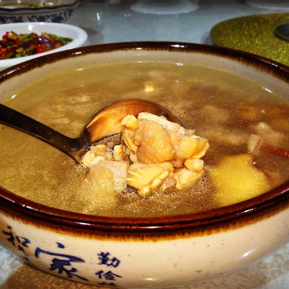香甜的石斛养生汤