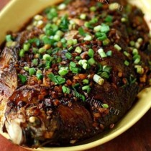 海鲜酱烧鳊鱼