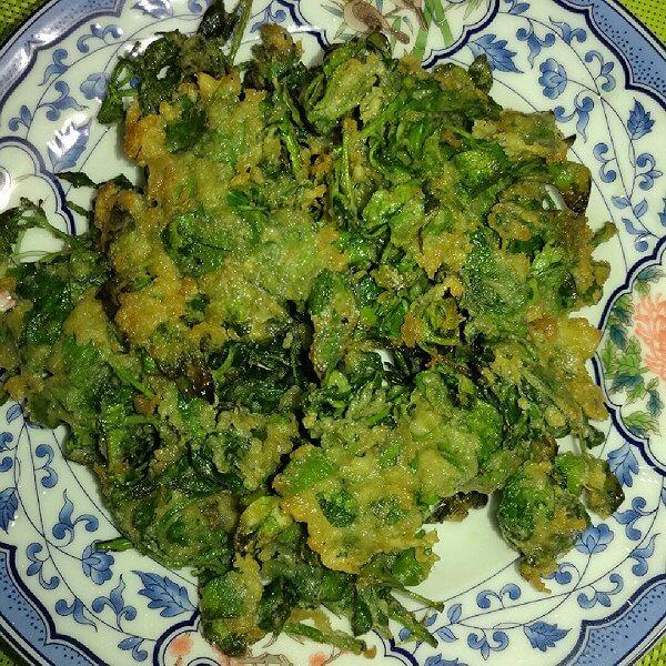 花椒芽菜卷