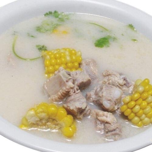 水果玉米+排骨汤