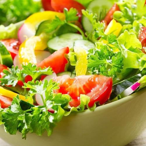 肋眼牛排蔬菜沙拉