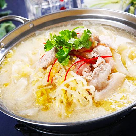 酸菜海鲜炖粉条