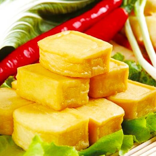 蟹子烤豆腐