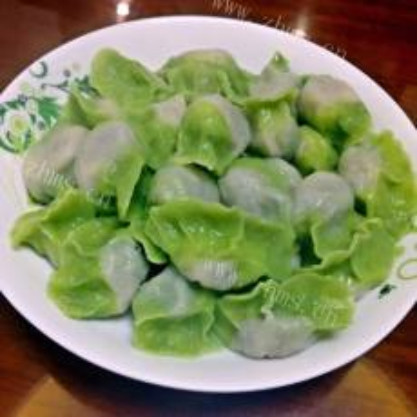 好吃的波菜馅饺子