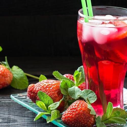 车厘子草莓汁