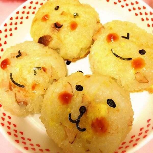蜜枣糯米团