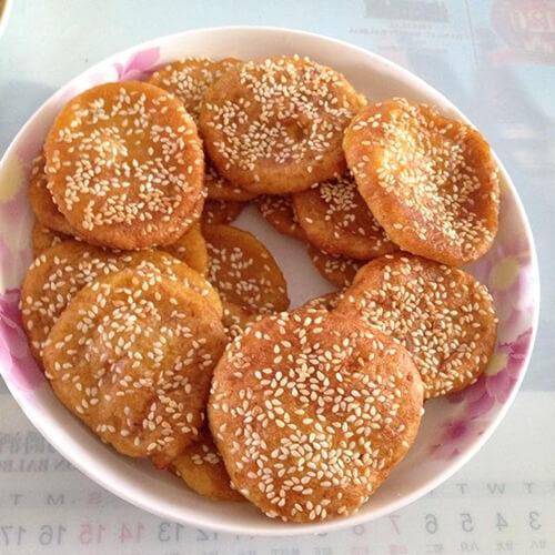 豆渣田园饼