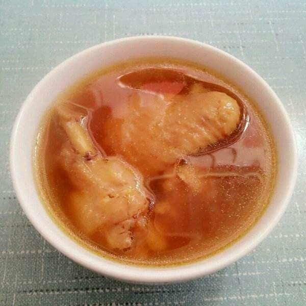 鸡骨草老黄瓜甜汤