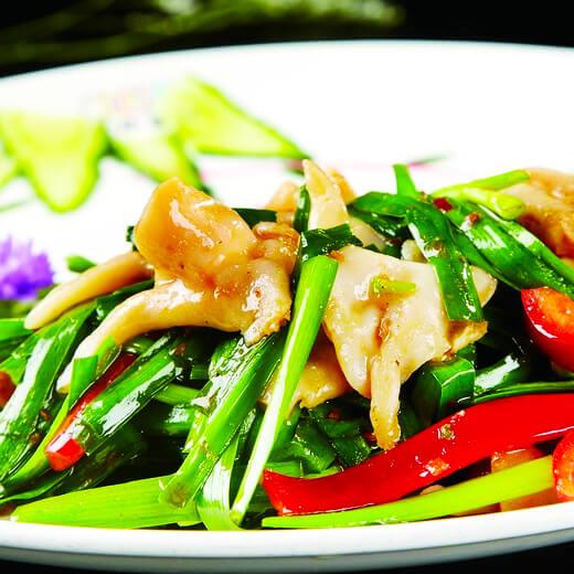 豉油炒韭菜
