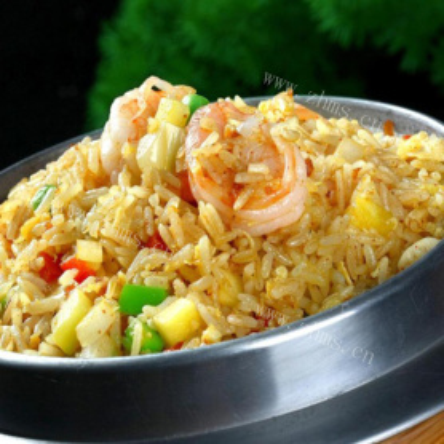 海鲜什锦炒饭