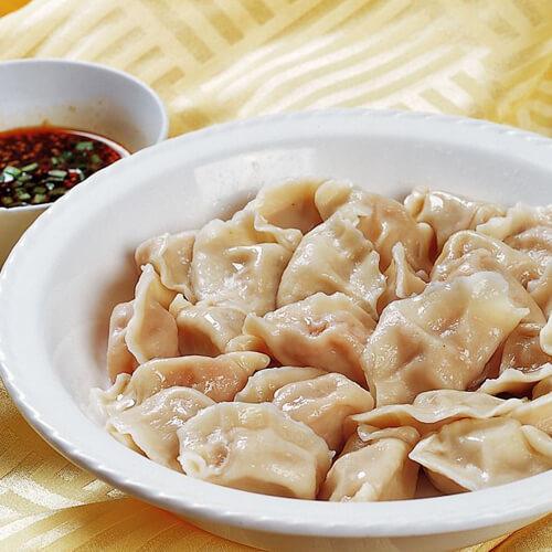 美味粉丝肉饺子