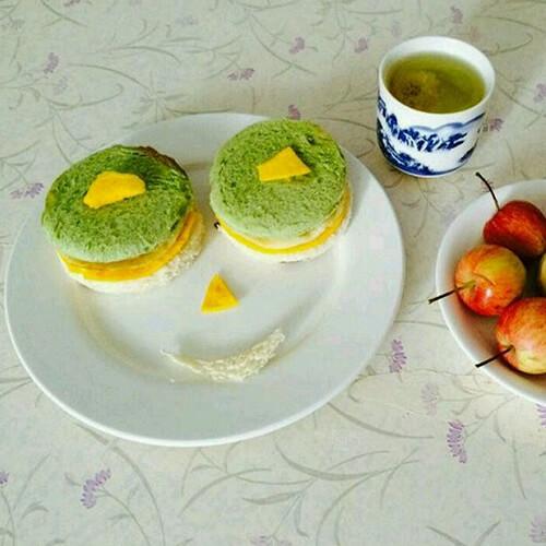 自制笑脸早餐