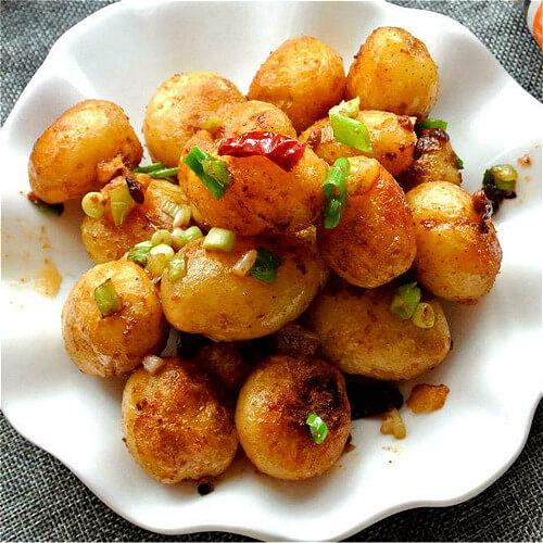 橄榄油香煎小土豆