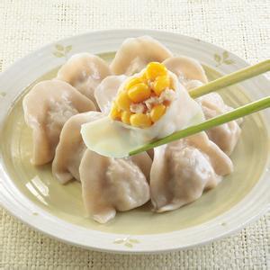 翡翠鲜虾饺