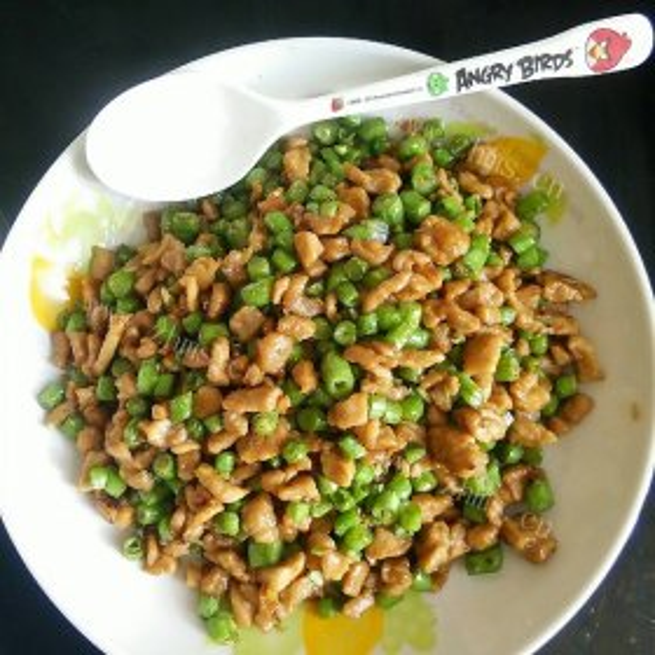 香炒豇豆粒