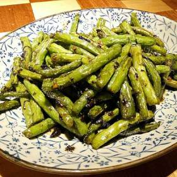 金蒜四季豆