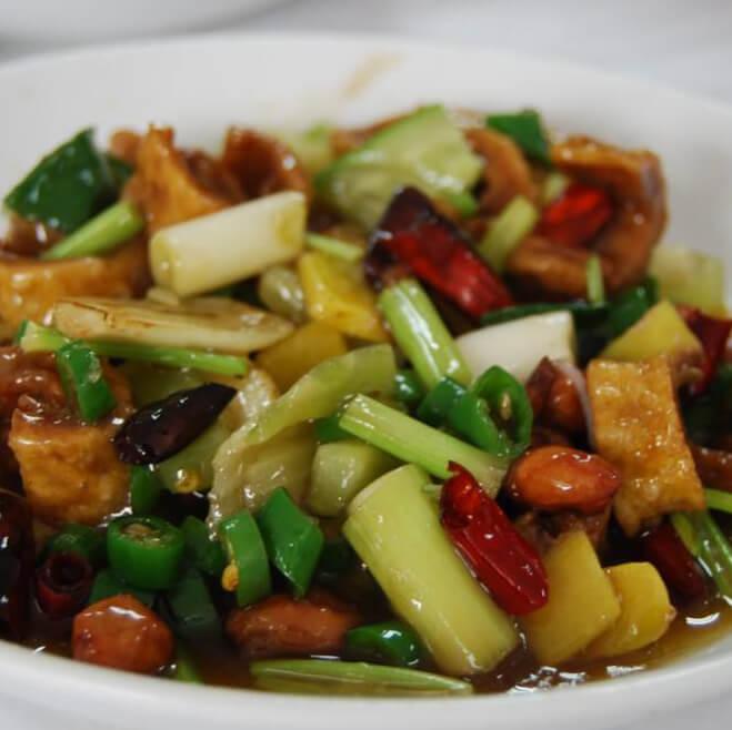 猪肉炒油菜
