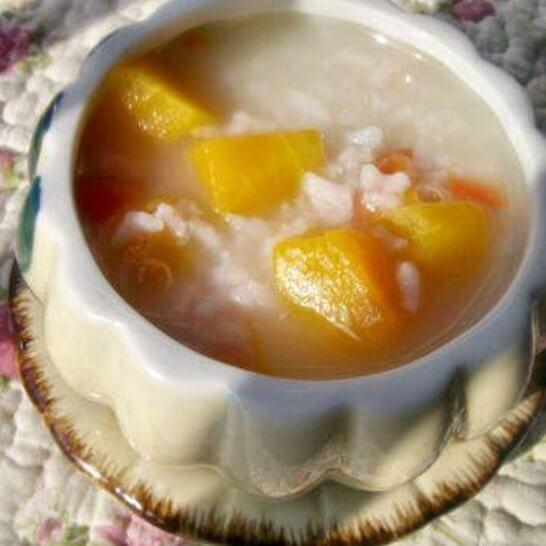 砂锅南瓜粥
