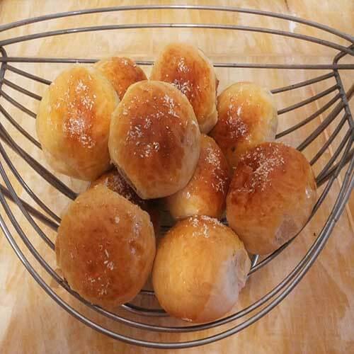 椰蓉蛋黄小餐包