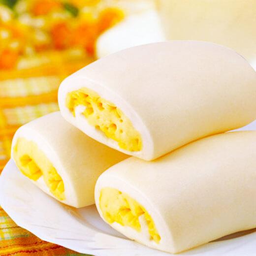 奶香鸡蛋馒头卷