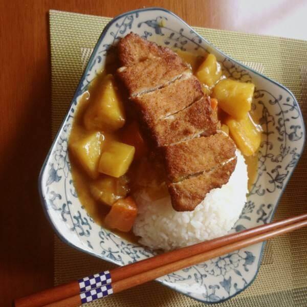 咖喱土豆猪肉饭