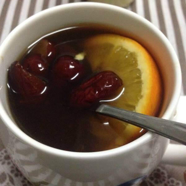 荷叶红枣茶