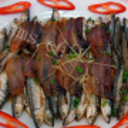 DIY-香肠蒸海鳗鱼干