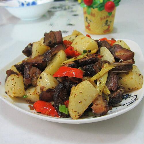 美味的腊丁土豆干