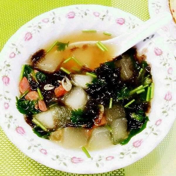 紫菜虾滑冬瓜汤