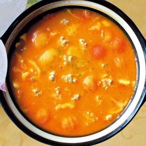 黄鱼西红柿汤