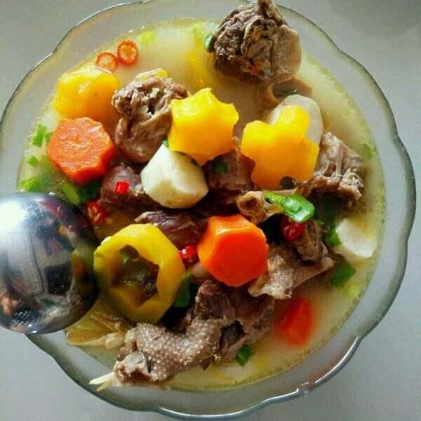 大鹅肉炖土豆胡萝卜