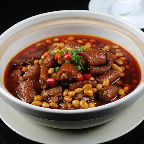 黄豆煲猪腱肉