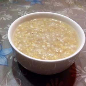 荞麦黑米粥