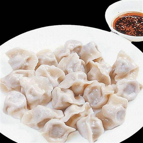 茶树菇饺子