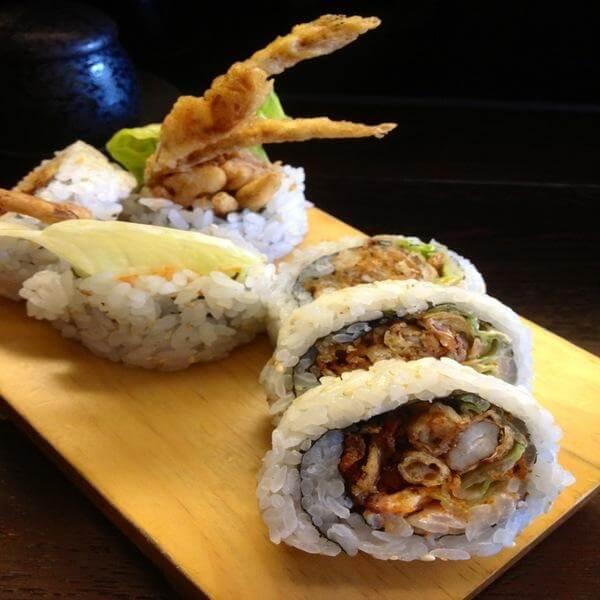 米饭蛋糕寿司