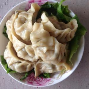 羊肉白菜陷饺子