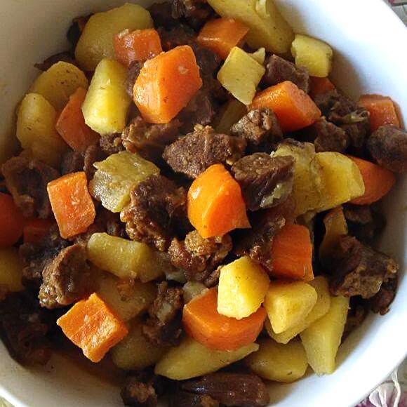山药土豆炖牛肉