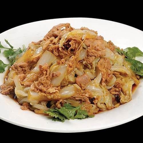 羊肉炒圆白菜