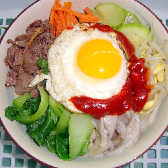 伪韩式拌饭