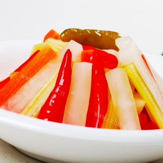 自制两种美味萝卜条