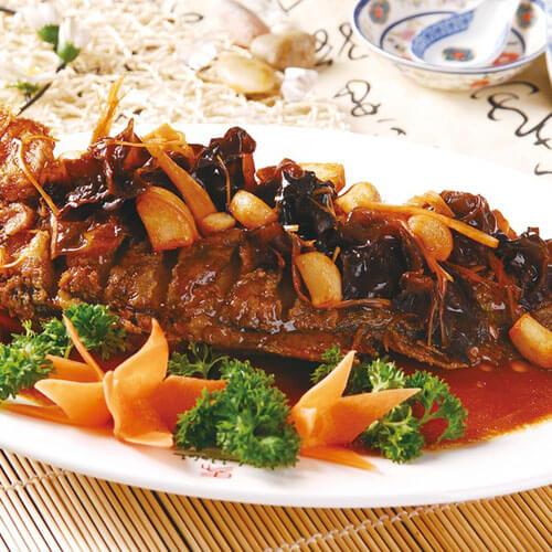 好吃的日式照烧黄花鱼