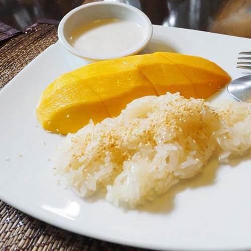 椰香芒果饭