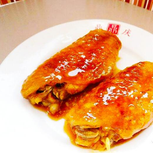 胡椒酱焖鸡翅