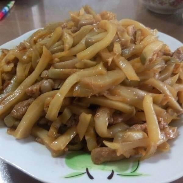 榨菜炒三丝