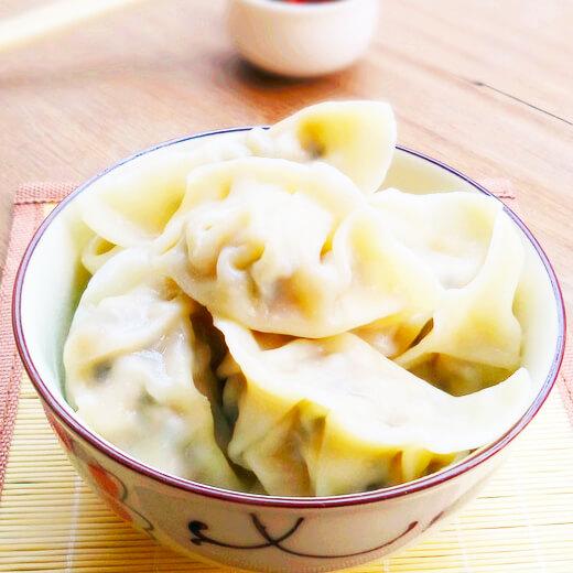 老北京白菜炸肉丁馅饺