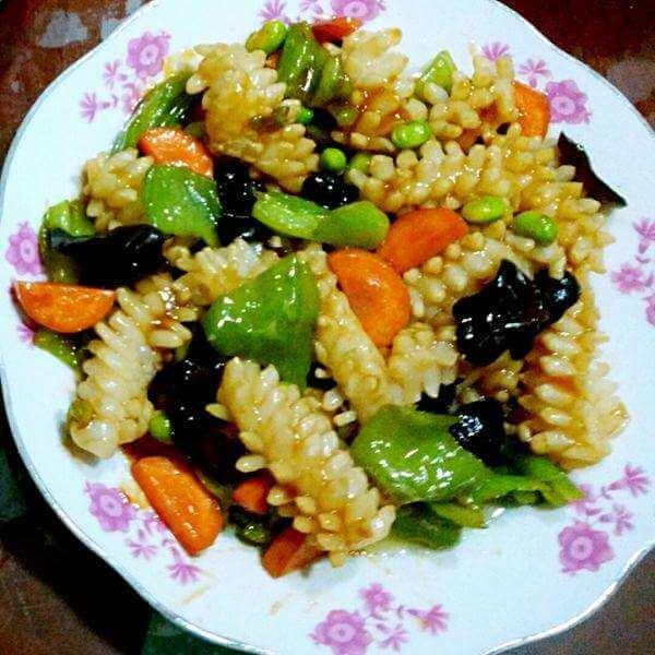 青椒目鱼卷